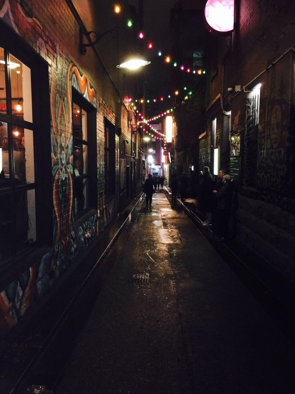 Nightlife at Melbourne