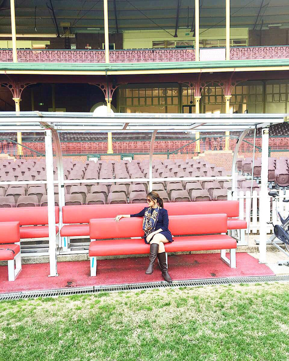 Ladies Pavillion at the Sydney Cricket Ground
